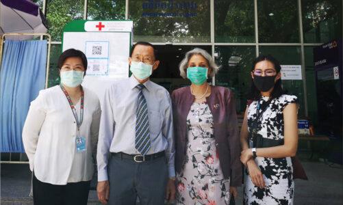 ผู้ประสานงานสหประชาชาติประจำประเทศไทย เข้าเยี่ยมชมศูนย์วิจัยโรคเอดส์